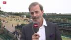 Video «Tennis: Wimbledon, Fazit von Heinz Günthardt» abspielen