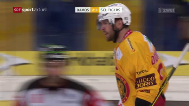 Video «Die Tigers kommen zum 1. Sieg unter Ehlers» abspielen