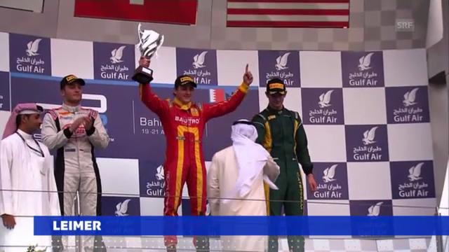 Motorsport: Leimer siegt in Bahrain («sportaktuell»)