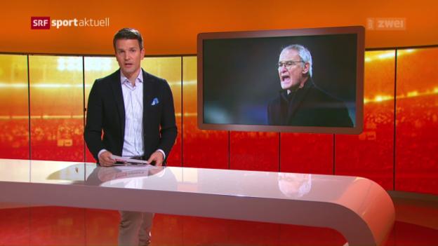 Video «Ranieri bei Leicester entlassen» abspielen