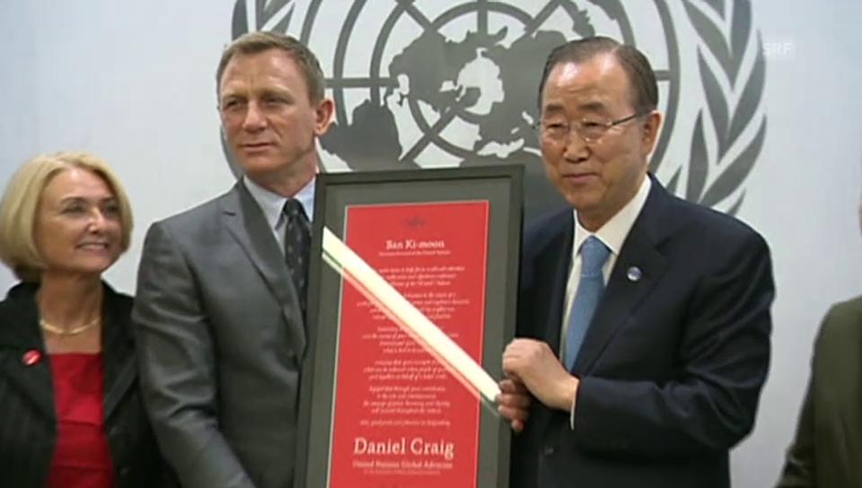 David Craig kämpft gegen Landminen