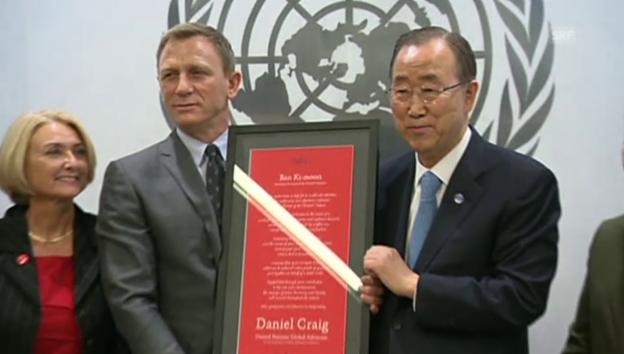 Video «David Craig kämpft gegen Landminen» abspielen