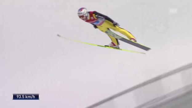 Video «Die Saison 2012/13 von Simon Ammann» abspielen