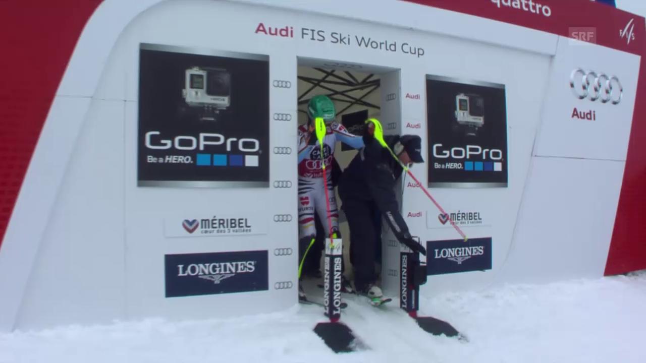 Ski: Männer-Slalom in Méribel, 2. Lauf Felix Neureuther