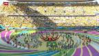 Video «Eröffnung der Fussball-Weltmeisterschaft» abspielen