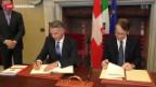 Video «Bundesrat Burkhalter auf Goodwill-Tour in Italien» abspielen
