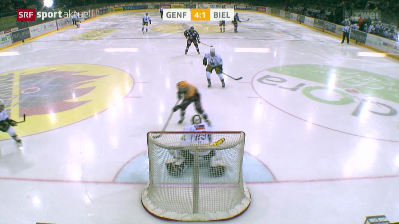Eishockey NLA: Genf - Biel