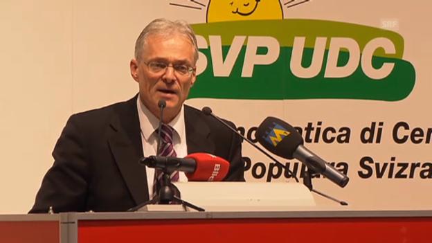 Video «Rede von Thomas Minder an der SVP-DV» abspielen