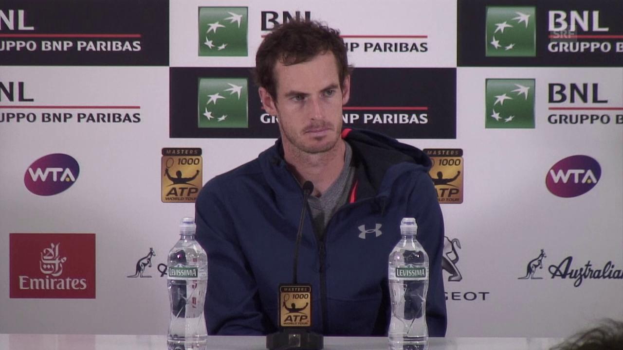Andy Murray über seine aktuelle Form und die French Open