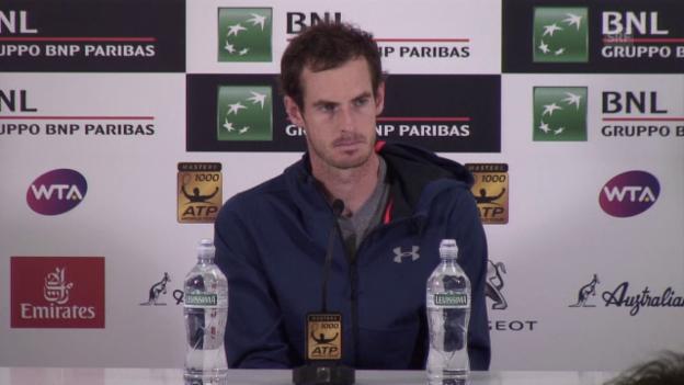 Video «Andy Murray über seine aktuelle Form und die French Open» abspielen