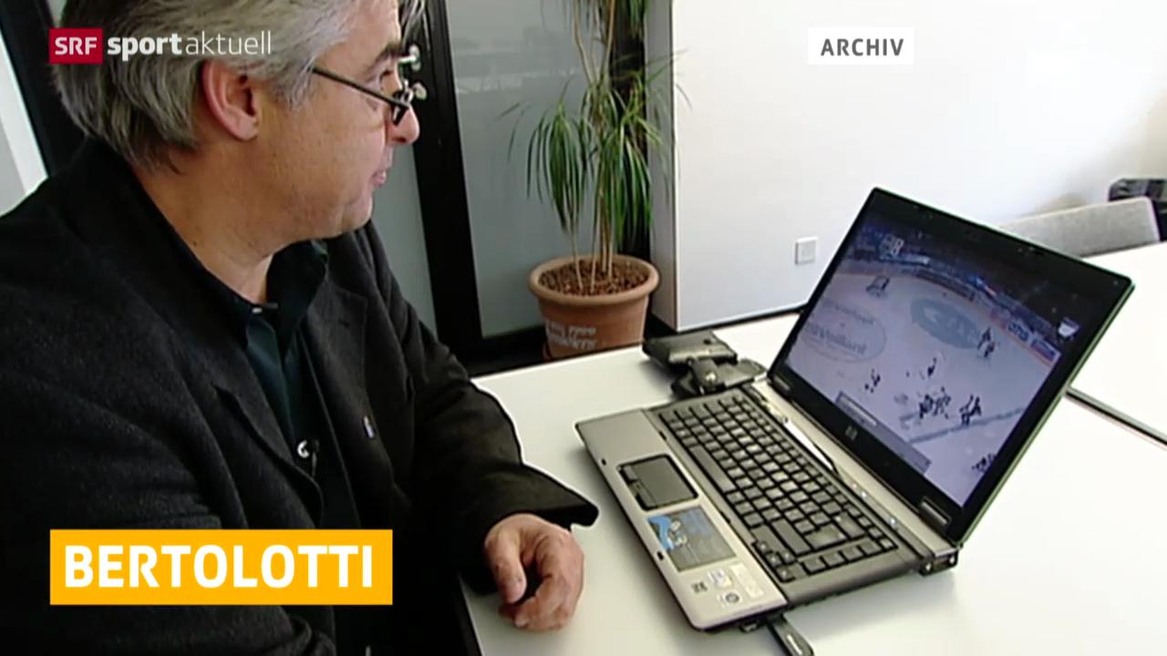 Eishockey: Rücktritt von Reto Bertolotti