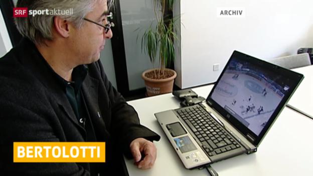 Video «Eishockey: Rücktritt von Reto Bertolotti» abspielen