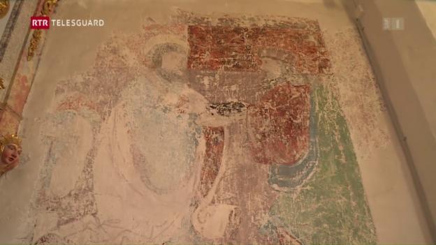 Laschar ir video «La renovaziun da la baselgia da San Jon a Susch»