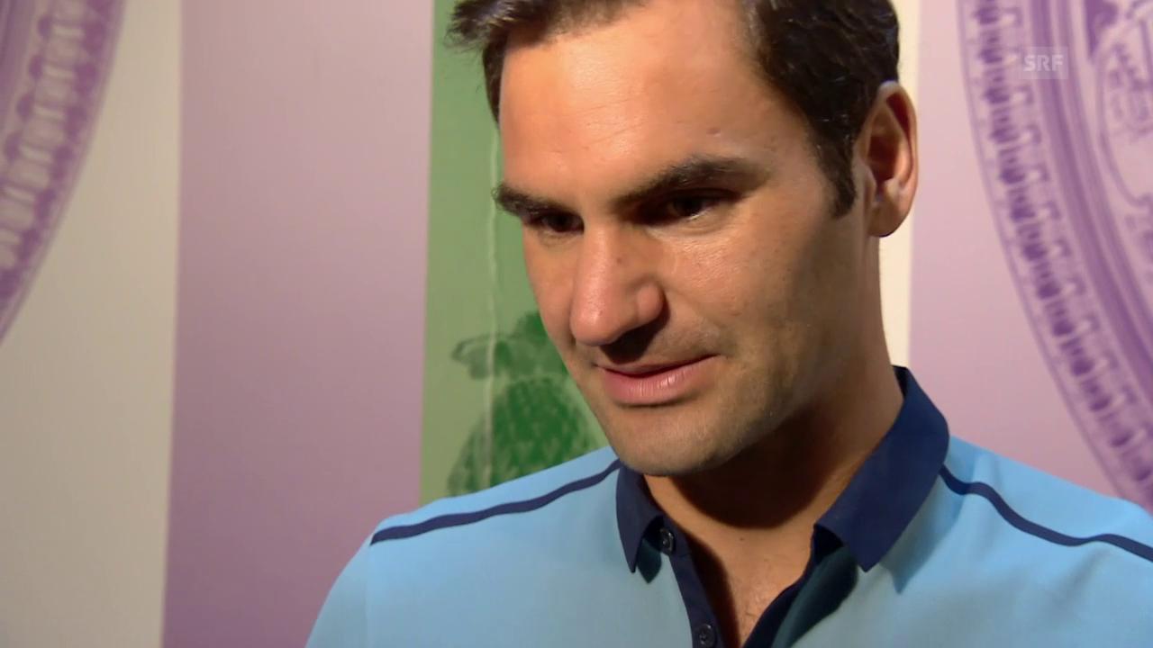 Roger Federer und seine Wimbledon-Idole