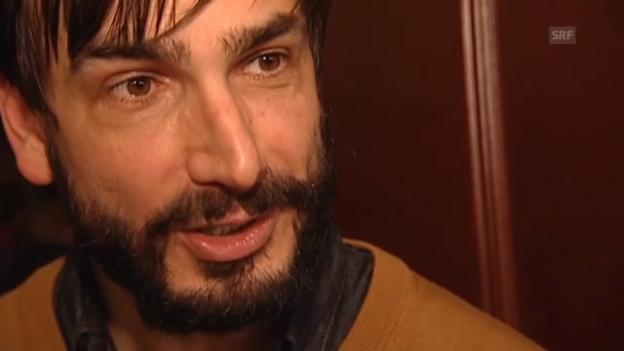 Video «Fabian Krüger über seine Doppelnomination beim Schweizer Filmpreis 2013» abspielen