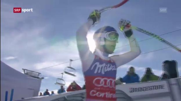 Video «Ski alpin: Frauen-Abfahrt in Cortina («sportaktuell»)» abspielen