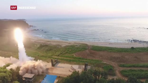 Video «Tagesschau vom 04.09.2017, 19:30» abspielen