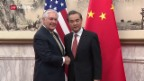 Video «US-Aussenminister in China» abspielen