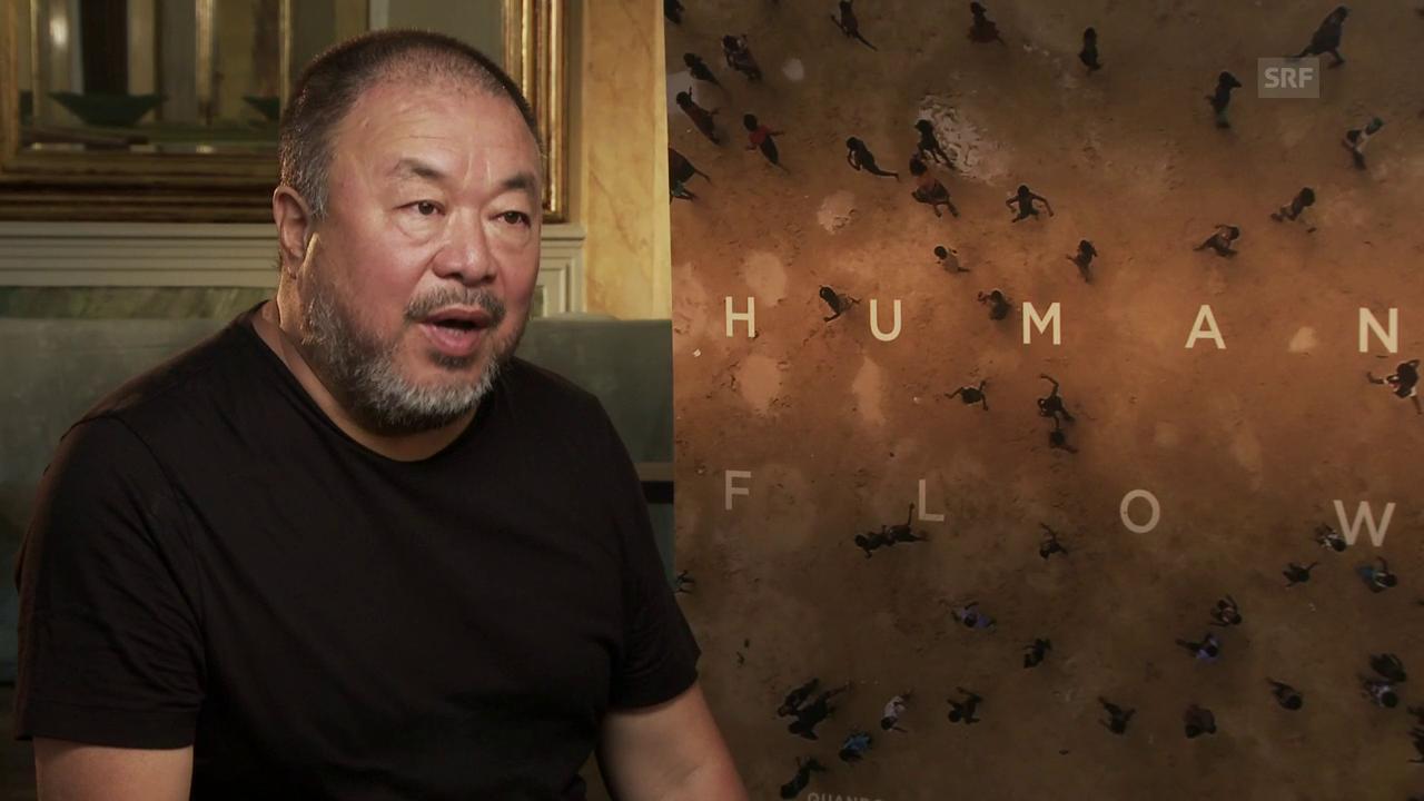 «Human Flow»: Ai Weiwei im SRF-Interview