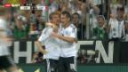 Video «Fussball: WM-Qualifikation, Deutschland - Österreich» abspielen