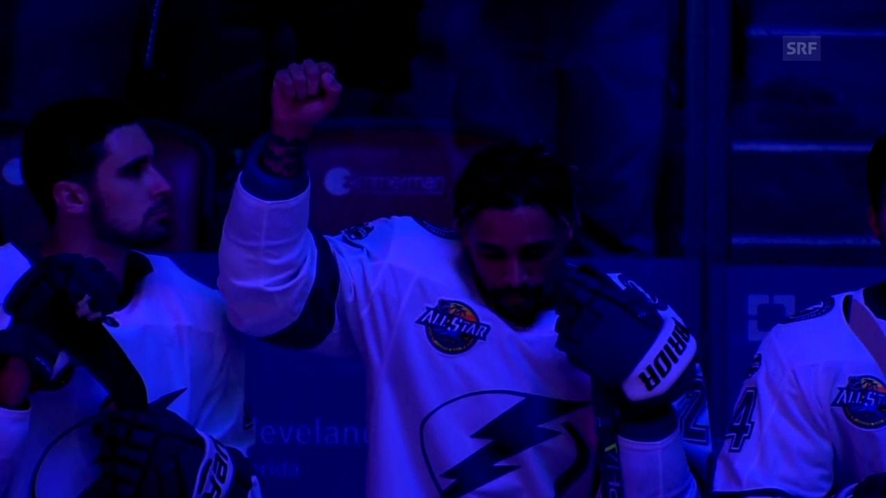 Erster NHL-Spieler schliesst sich Protestwelle an