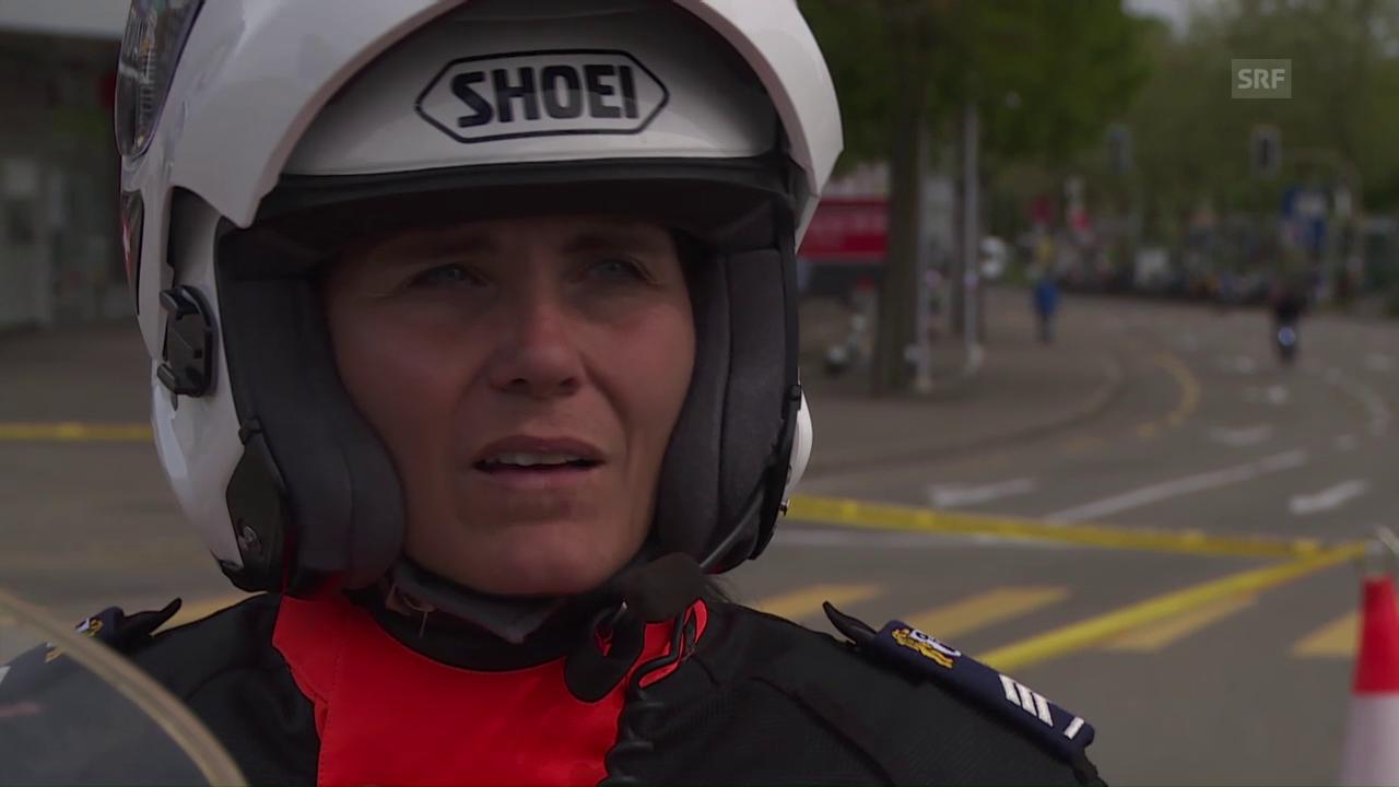 Polizistin Marianne Preiswerk nervt hin und wieder das «Bünzlige»
