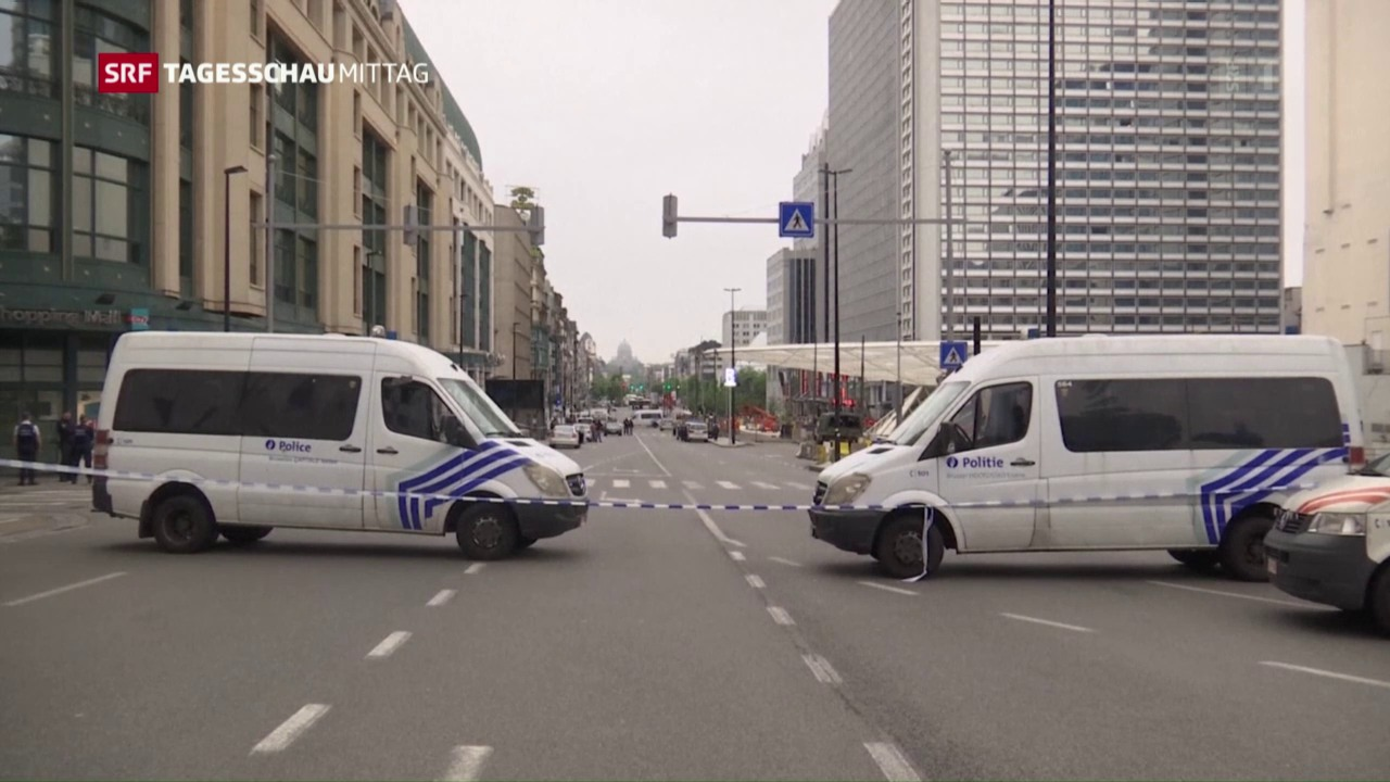 Entwarnung nach Terrorangst in Brüssel