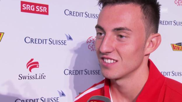 Video «Fussball: Interview mit Josip Drmic» abspielen