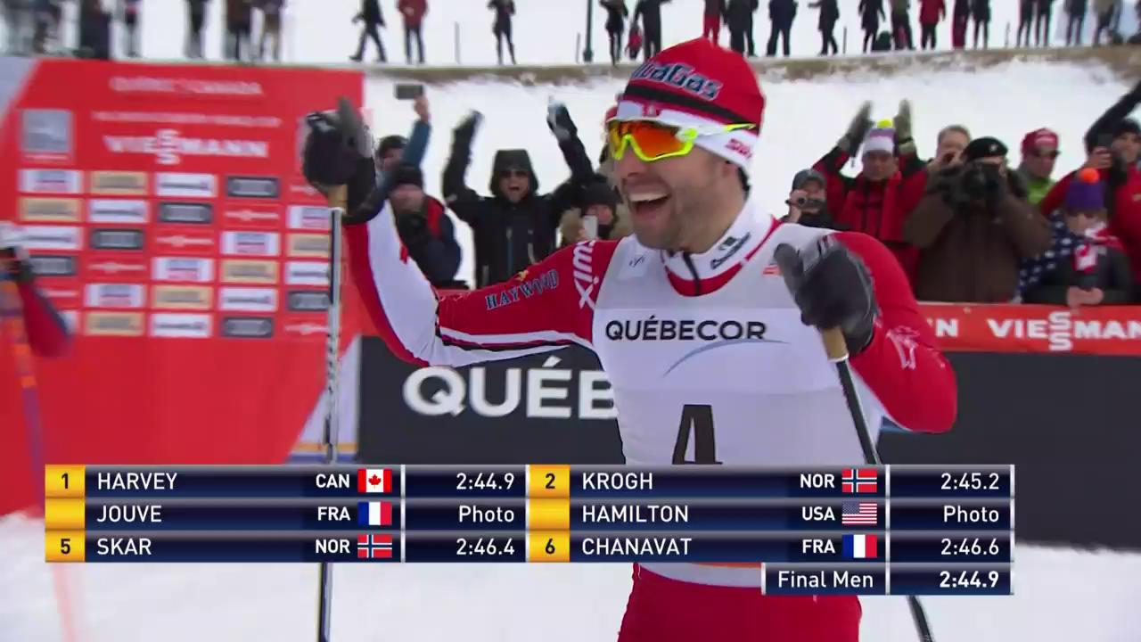 Heimsieg für Sprinter Harvey in Québec