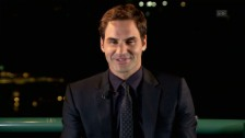 Link öffnet eine Lightbox. Video Federer: «Es war ein gigantisches Jahr» abspielen