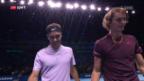 Video «Federer vorzeitig im Halbfinal» abspielen