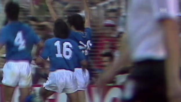 Video «WM 1982: Zusammenfassung Final Italien - BRD» abspielen