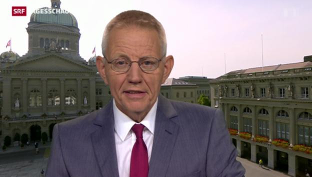 Video «Einschätzungen von Bundeshausredaktor Hanspeter Trütsch» abspielen