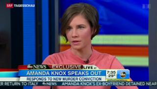 Video «Amanda Knox kämpft trotz «schuldig» weiter» abspielen