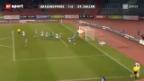 Video «Fussball: Spitzenkampf GC – St. Gallen» abspielen