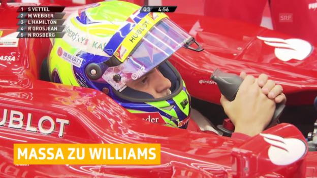 Video «Formel 1: Felipe Massa wechselt zu Williams («sportlive»)» abspielen