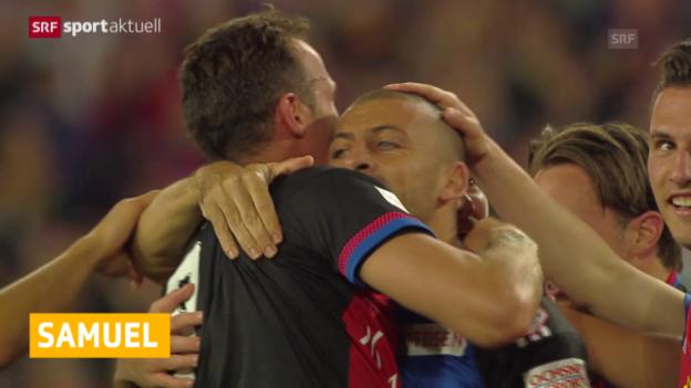 Video «Fussball: Super League, Samuel verlängert in Basel» abspielen