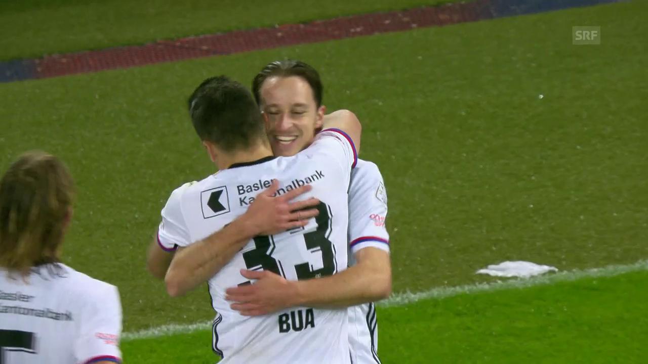 Basel zittert sich gegen Thun zum Sieg