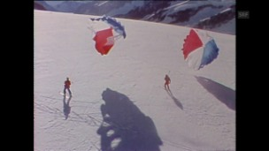 Video «Neue Sportart Ski-Segeln (1978)» abspielen