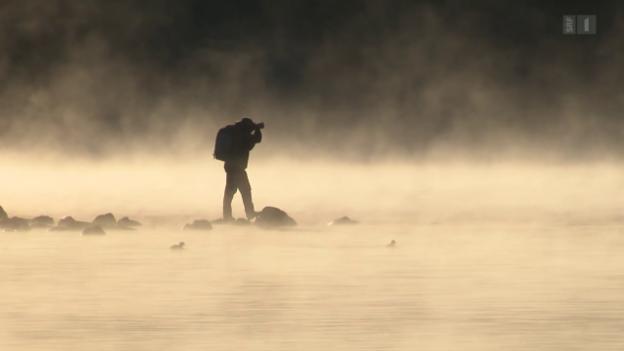 Video «Nebeljäger: Auf der Suche nach dem perfekten Nebelbild» abspielen