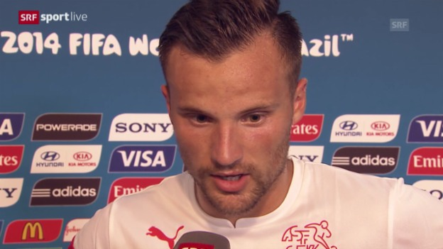 Video «Fussball: Interview mit Haris Seferovic» abspielen