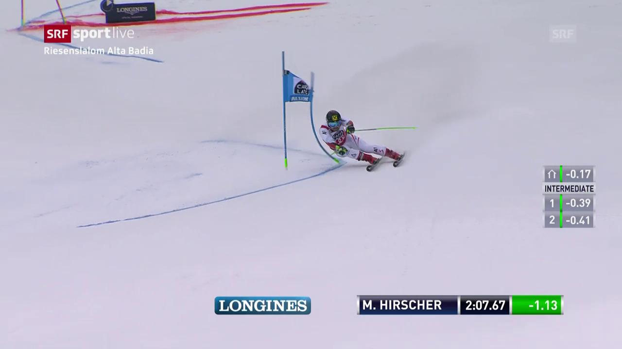 Hirscher siegt mit Wahnsinns-Vorsprung