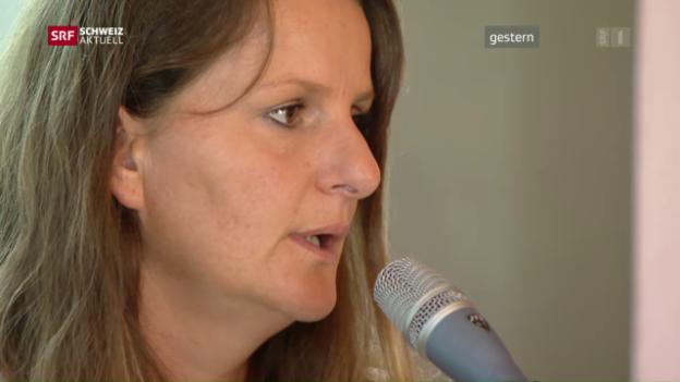 Video «Tessiner SP-Grossrätin festgenommen» abspielen