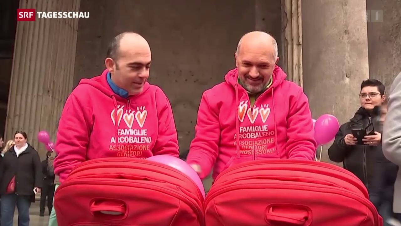 Italien berät über Adoptionsrecht für Homosexuelle