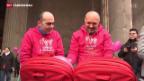 Video «Italien berät über Adoptionsrecht für Homosexuelle» abspielen
