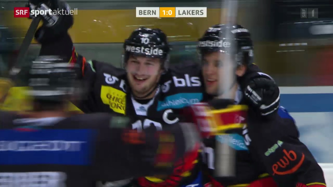 Eishockey: NLA, Bern - Lakers