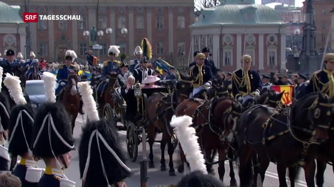 Schweden feiert seinen König