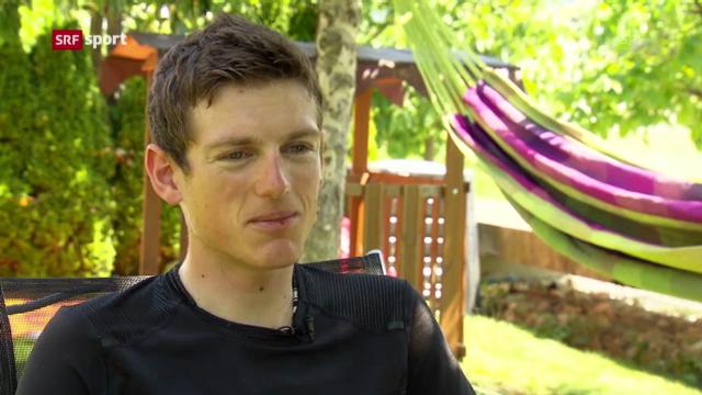 Mathias Frank nach der Tour de Suisse («sportlounge»)
