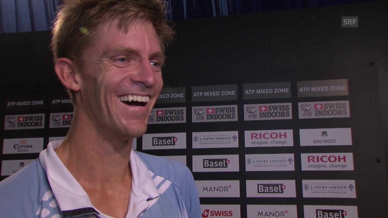 Tennis: Swiss Indoors, Quiz Kevin Anderson