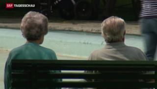 Video «Die Pensionskasse erst für die Rente» abspielen